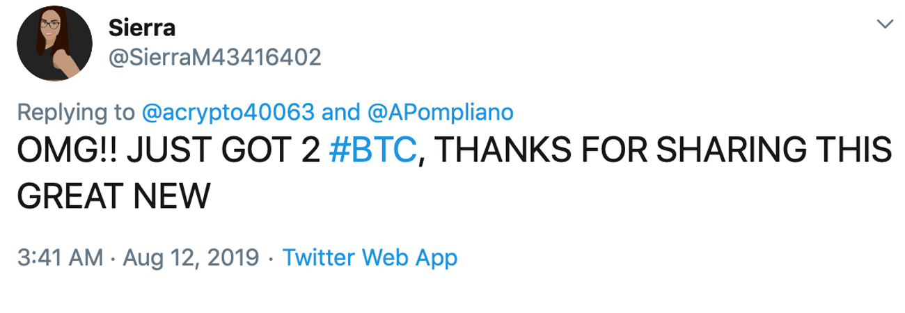 Twitter Crypto Scammers Continue to Fly Under the Company's Radar