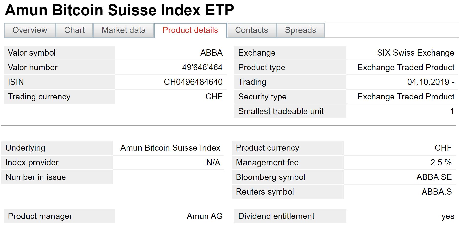 7 Crypto ETPs Now Trading on Main Swiss Stock Exchange
