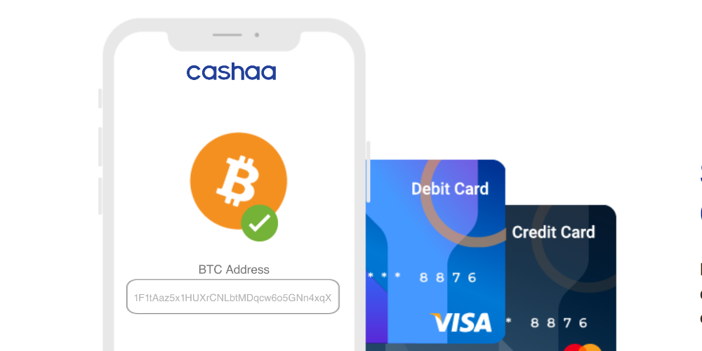 Cashaa Launches Banking Solution for Indian Crypto Owners