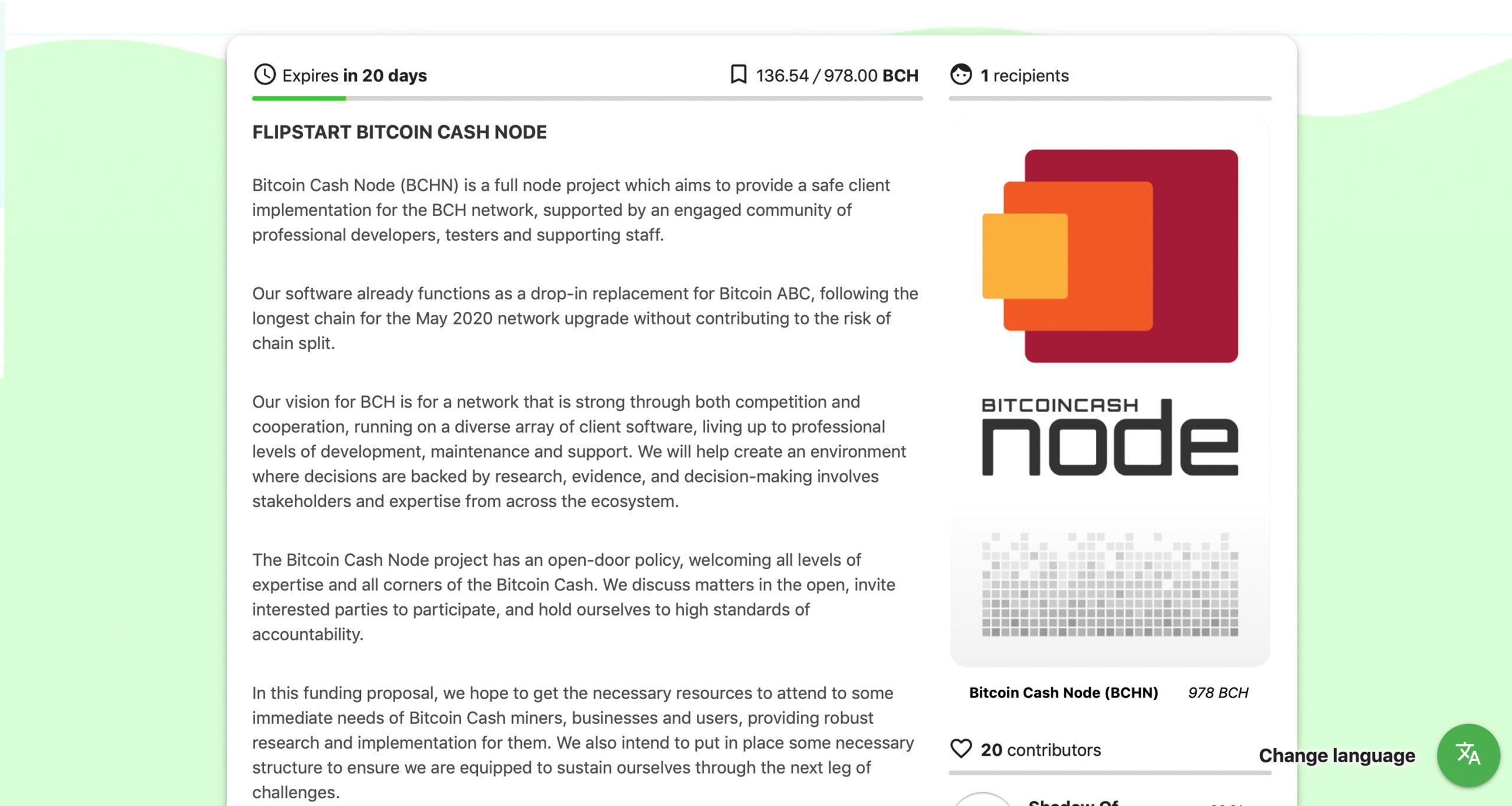 5 Bitcoin Cash Full Node Teams to Raise Funds With the Noncustodial Flipstarter App