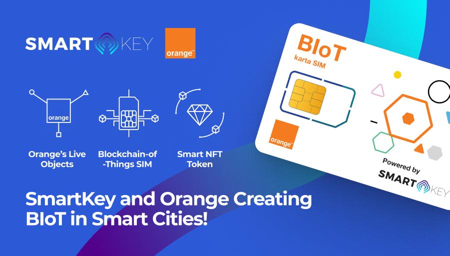 SmartKey and Orange Revolutionize the Blockchain of Things